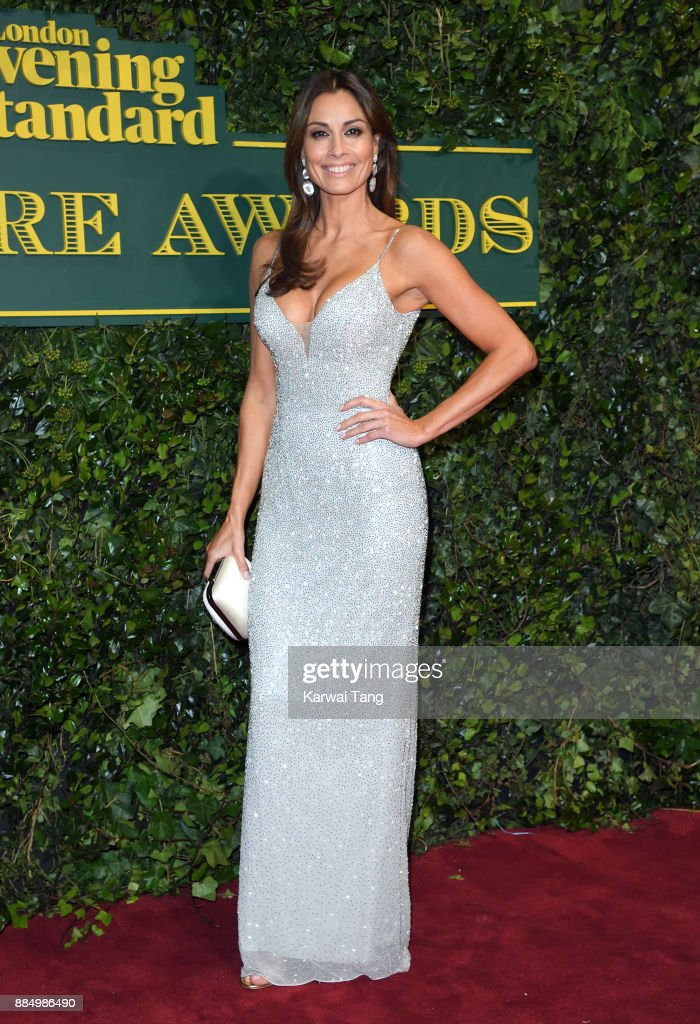 Melanie Sykes attends the London Evening Standard Theatre Awards at Theatre Royal on December 3, 2017 in London, England.