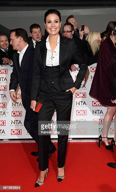 Melanie Sykes attends the National Television Awards at 02 Arena on January 21 2015 in London England