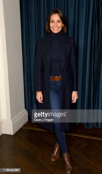 Melanie Sykes attends the Out of Blue preview screening at Picturehouse Central on March 26 2019 in London England