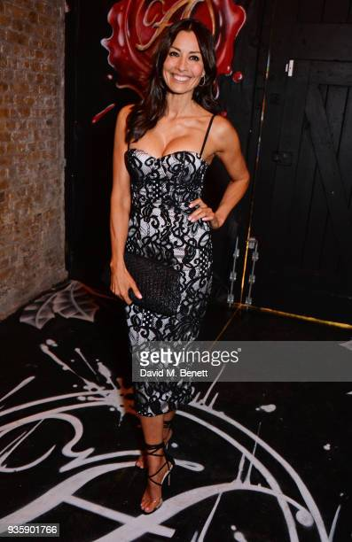 Melanie Sykes attends The Perfumer's Story evening of Scentsory delights hosted by Aures London Azzi Glasser at Sensorium on March 21 2018 in London...