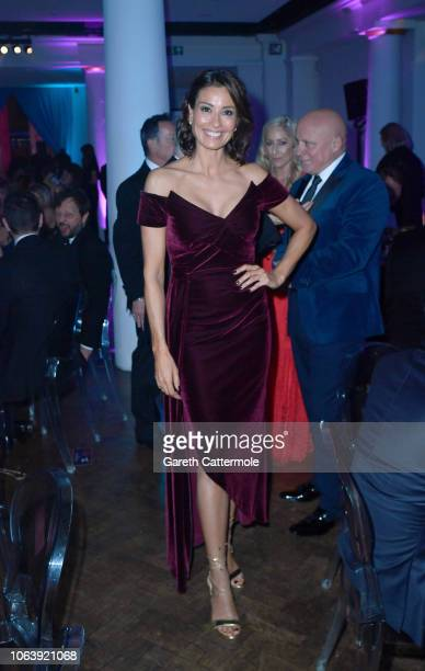 Melanie Sykes attends the Together For Short Lives 'Nutcracker Ball' at One Marylebone on November 20 2018 in London England Money raised during the...