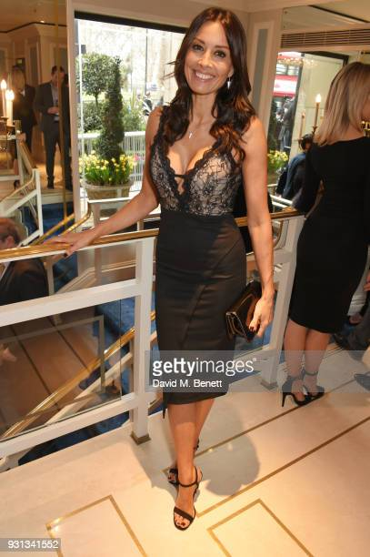 Melanie Sykes attends the TRIC Awards 2018 held at The Grosvenor House Hotel on March 13 2018 in London England
