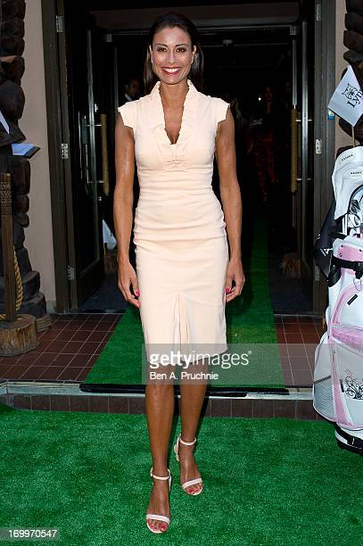 Melanie Sykes attends the VIP launch of Lynx Golf at Kanaloa on June 5 2013 in London England