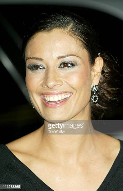 Melanie Sykes during George Michael's A Different Story Gala London Screening Outside Arrivals at Curzon Mayfair in London Great Britain