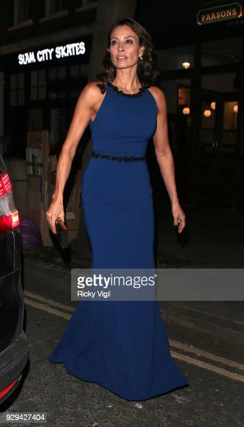 Melanie Sykes seen attending The Bardou Foundation: International Women's Day Gala at The Hospital Club on March 8, 2018 in London, England.