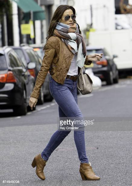COVERAGE*** Melanie Sykes seen in Hampstead on November 16 2017 in London England Melanie has been in the news recently having after it emerged she...