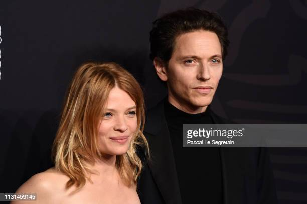 Melanie Thierrry and Raphael arrive at the Cesar Film Awards 2019 at Salle Pleyel on February 22 2019 in Paris France