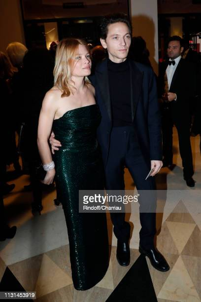 Melanie Thierrry and Raphael attend the Cesar Film Awards 2019 at Salle Pleyel on February 22 2019 in Paris France