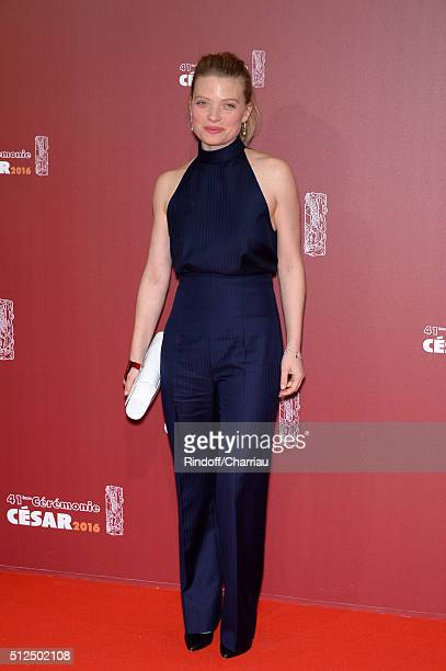 Melanie Thierry arrives at The Cesar Film Awards 2016 at Theatre du Chatelet on February 26 2016 in Paris France