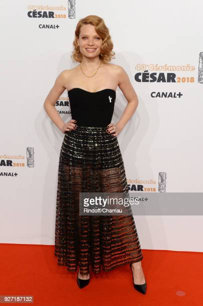 Melanie Thierry arrives at the Cesar Film Awards 2018 At Salle Pleyel on March 2 2018 in Paris France