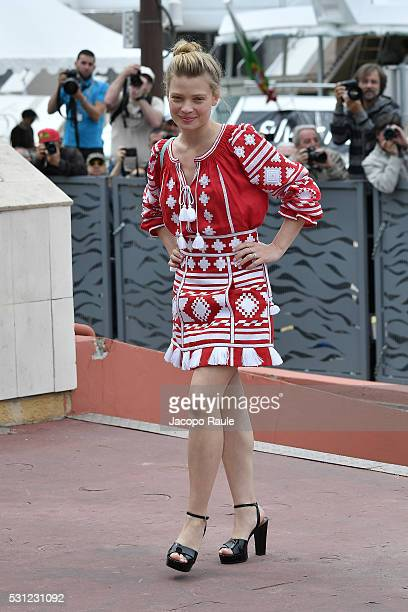 Melanie Thierry arrives at 'The Dancer' Photo call during the annual 69th Cannes Film Festival at on May 13 2016 in Cannes France