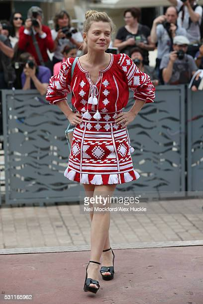 Melanie Thierry arriving for The Dancer during the 69th annual Cannes Film Festival at The Palais de Festival on May 13, 2016 in Cannes, France.
