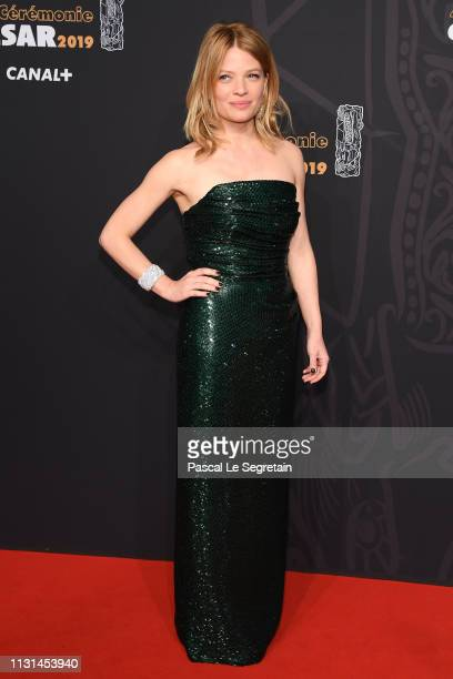Melanie Thierry attends Cesar Film Awards 2019 at Salle Pleyel on February 22 2019 in Paris France