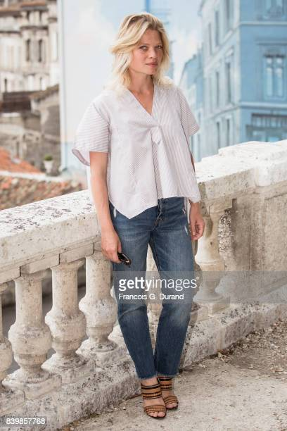Melanie Thierry attends the 10th Angouleme FrenchSpeaking Film Festival on August 27 2017 in Angouleme France