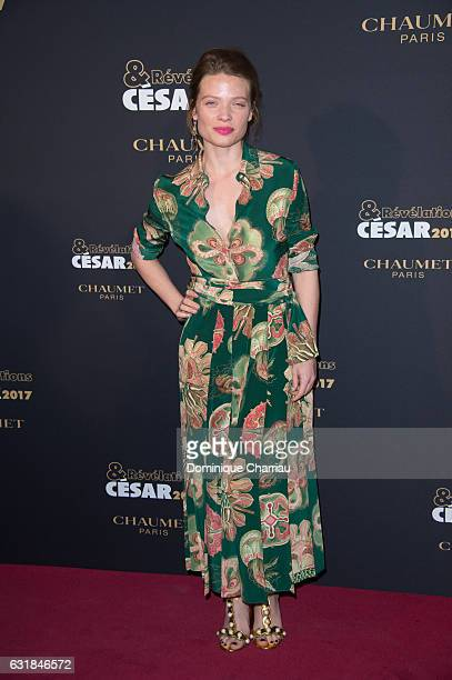 Melanie Thierry attends the Cesar Revelations 2017' Photocall at Salon Chaumet on January 16 2017 in Paris France