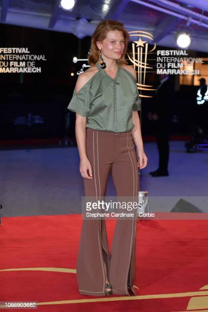 Melanie Thierry attends the opening ceremony of the 17th Marrakech International Film Festival on November 30 2018 in Marrakech Morocco