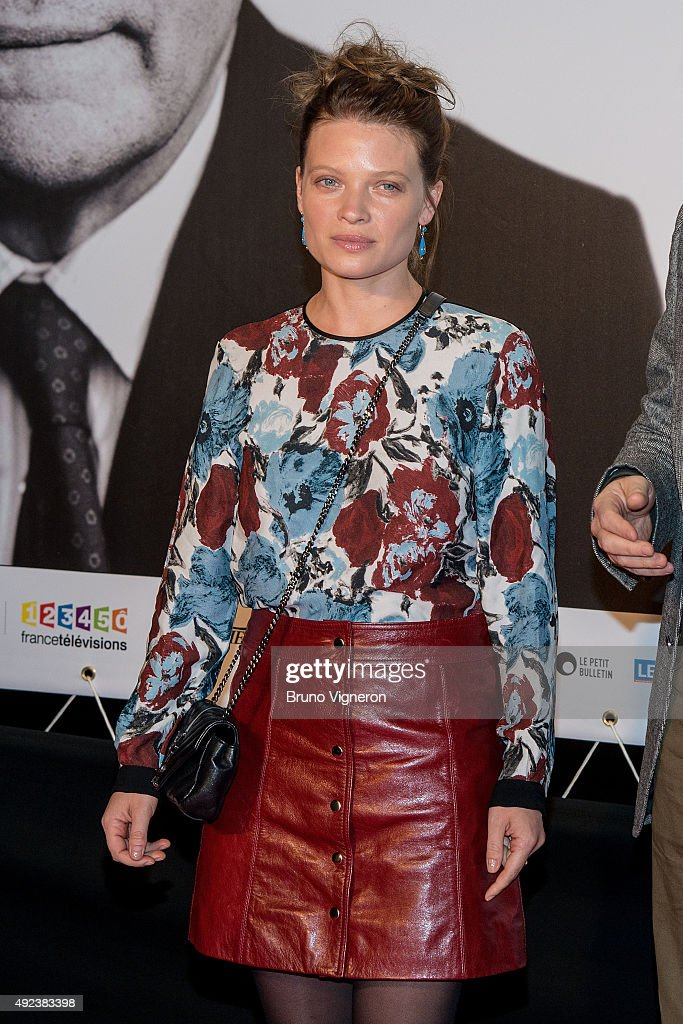 Melanie Thierry attends the Opening Ceremony of the 7th Film Festival Lumiere on October 12, 2015 in Lyon, France.