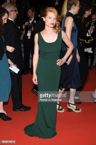 Melanie Thierry attends the screening of Under The Silver Lake during the 71st annual Cannes Film Festival at Palais des Festivals on May 15 2018 in...
