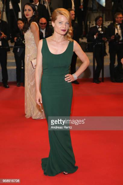 Melanie Thierry attends the screening of 'Under The Silver Lake' during the 71st annual Cannes Film Festival at Palais des Festivals on May 15 2018...