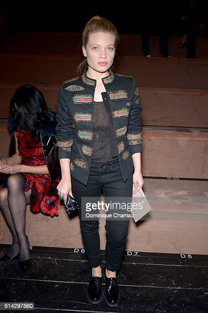 Melanie Thierry attends the Valentino show as part of the Paris Fashion Week Womenswear Fall/Winter 2016/2017 on March 8 2016 in Paris France
