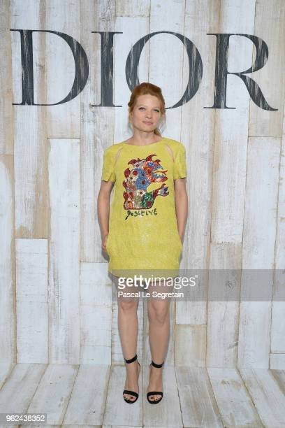 Melanie Thierry poses at a photocall during Christian Dior Couture S/S19 Cruise Collection on May 25 2018 in Chantilly France