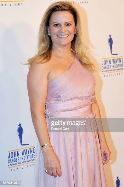 Melanie Wayne attends John Wayne Cancer Institute Auxiliary's 32nd Annual Odyssey Ball at the Beverly Wilshire Four Seasons Hotel on March 25 2017 in...