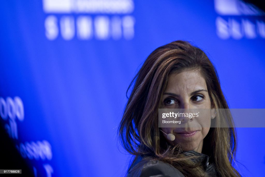 Melanie Whelan, chief executive officer of SoulCycle LLC, listens during a panel discussion at the Goldman Sachs 10,000 Small Businesses Summit in Washington, D.C., U.S., on Tuesday, Feb. 13, 2018. Goldman's 10,000 Small Businesses is an investment that brings economic opportunity and assists entrepreneurs to create jobs by providing better access to education, capital and business support services. Photographer: Andrew Harrer/Bloomberg via Getty Images