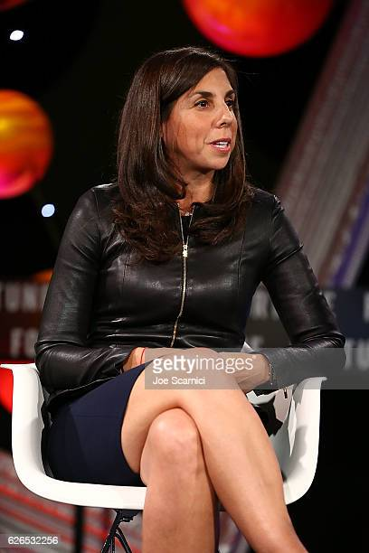 Melanie Whelan speaks onstage during the One on One The Business of Performance panel at Fortune MPW Next Gen 2016 on November 29 2016 in Dana Point...
