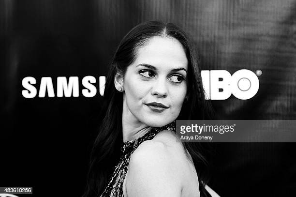 Melanie Zanetti attends the Adaptive Studios and HBO present The Project Greenlight Season 4 Winning Film The Leisure Class at The Theatre At The Ace...