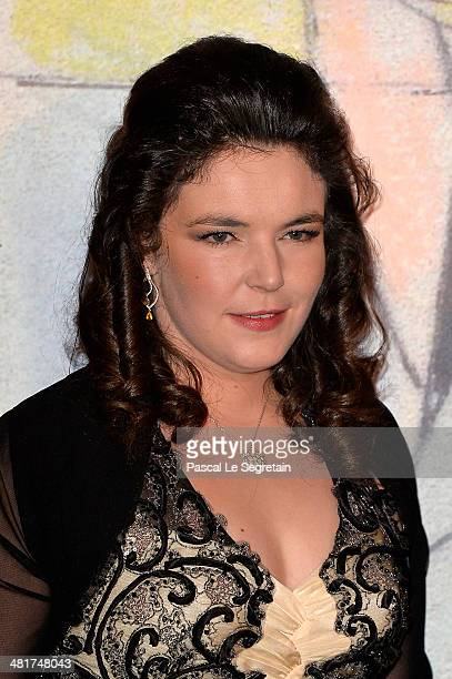 MelanieAntoinette de Massy attends the Rose Ball 2014 in aid of the Princess Grace Foundation at Sporting MonteCarlo on March 29 2014 in MonteCarlo...