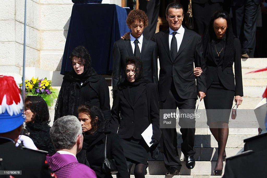 Princess Melanie-Antoinette Funeral In Cathedrale de Monaco : News Photo