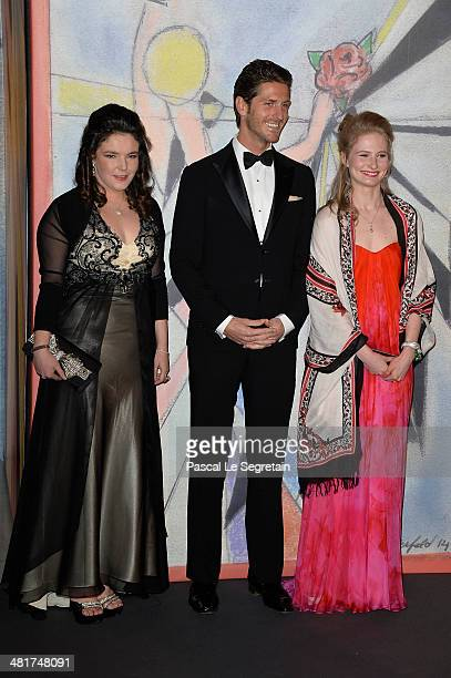 MelanieAntoinette de Massy JeanThierry Besins and MelanieAntoinette de Massy attend the Rose Ball 2014 in aid of the Princess Grace Foundation at...