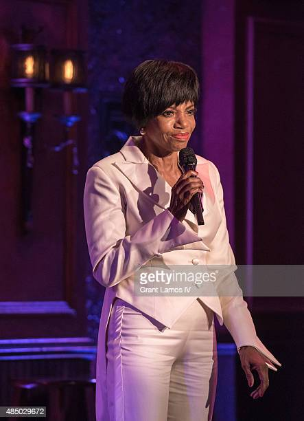 Melba Moore attends the Sarah Dash birthday celebration at 54 Below on August 23 2015 in New York City
