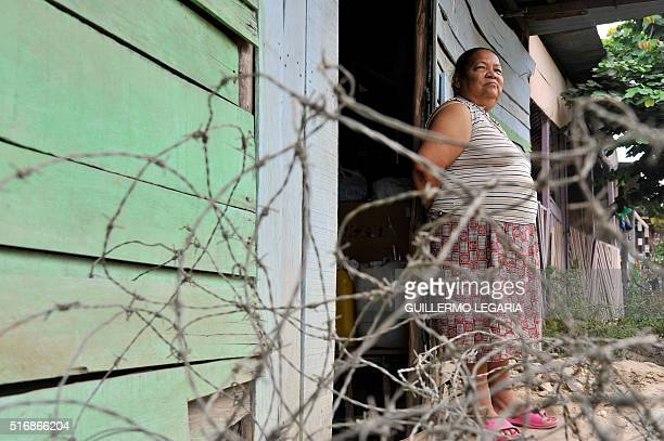 """Melba Ruiz, mother of three children """"disappeared"""" during the armed conflict in Colombia, at her home in Villavicencio, Meta department, on February..."""