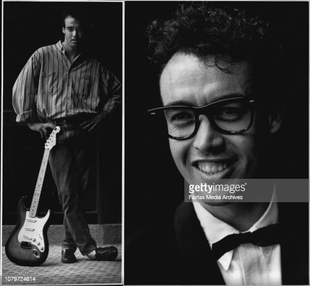 Melbourne actor Scot Robin as himself and as buddy holly in the new musical celebrating the mans workShow business fairytale after 12 years of bit...