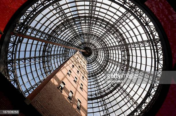 melbourne architecture - concentric stock pictures, royalty-free photos & images