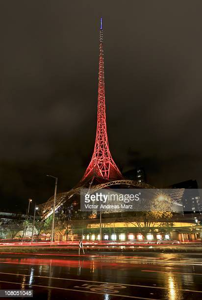 Melbourne Arts Centre at Night
