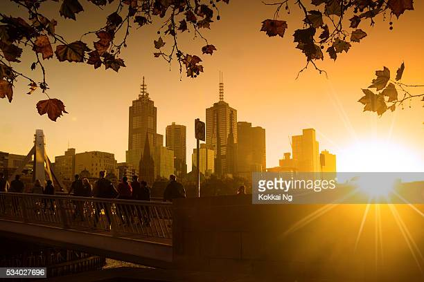 Melbourne at sunrise