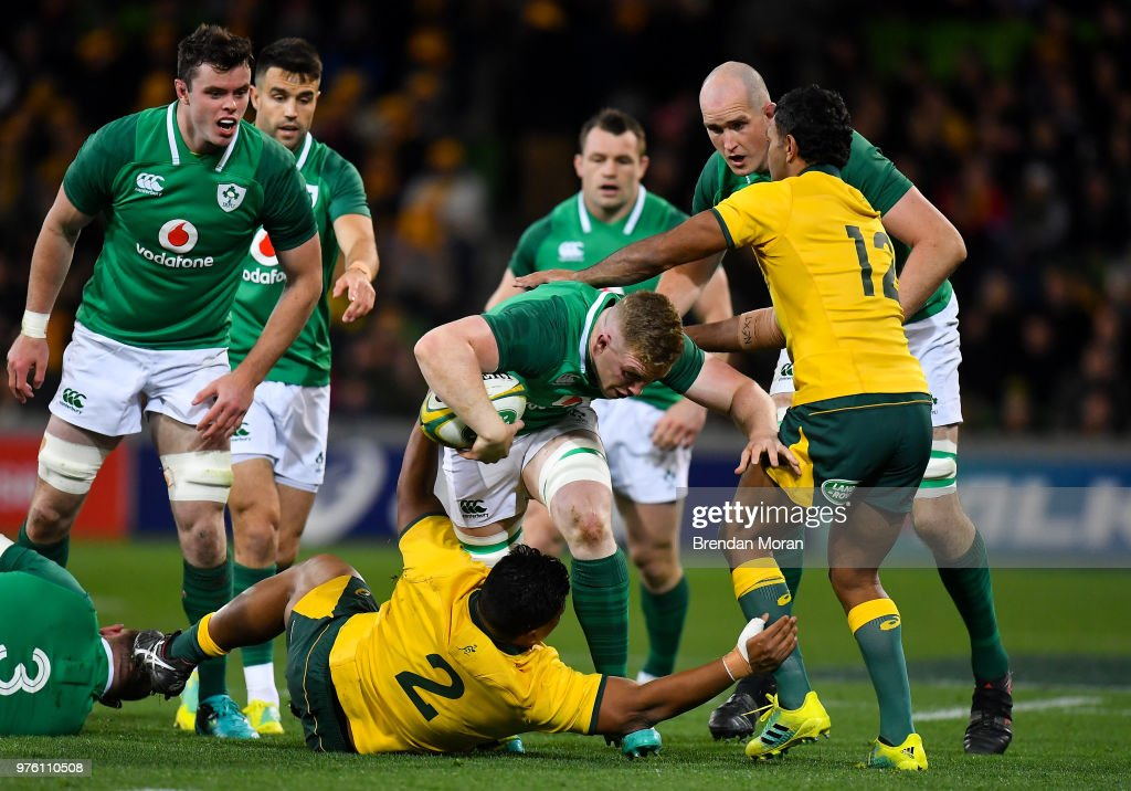Australia v Ireland - 2nd Test