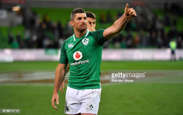 Melbourne Australia 16 June 2018 Rob Kearney of Ireland after the 2018 Mitsubishi Estate Ireland Series 2nd Test match between Australia and Ireland...