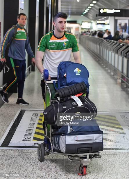 Melbourne Australia 6 November 2017 Brendan Harrison as the 2017 Ireland International Rules Squad arrive in Melbourne at Melbourne Airport in...