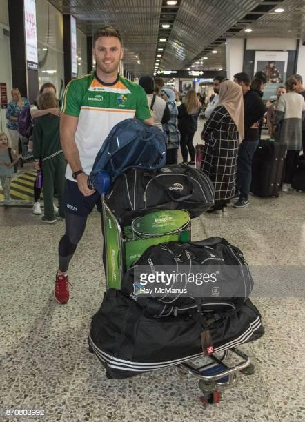 Melbourne Australia 6 November 2017 Eoin Cadogan as the 2017 Ireland International Rules Squad arrive in Melbourne at Melbourne Airport in Australia