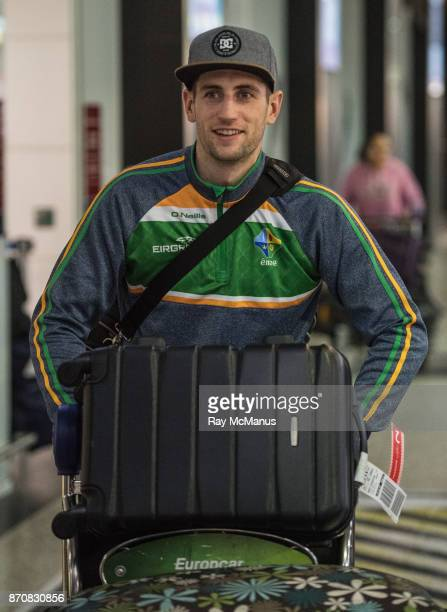 Melbourne Australia 6 November 2017 Paul Geaney as the 2017 Ireland International Rules Squad arrive in Melbourne at Melbourne Airport in Australia
