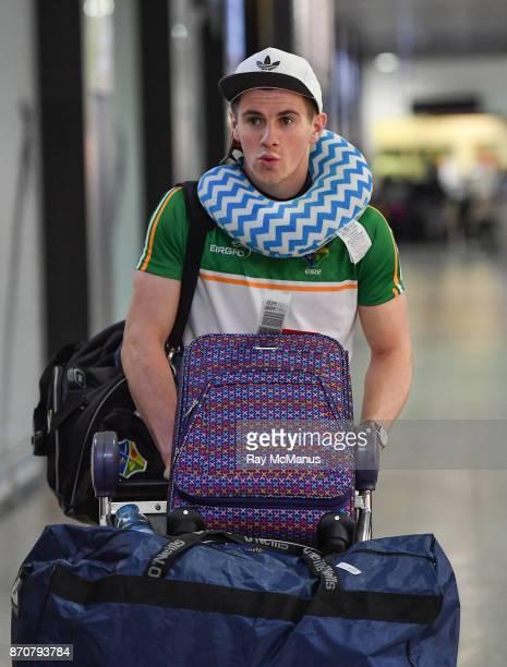 Melbourne Australia 6 November 2017 Shane Walsh as the 2017 Ireland International Rules Squad arrive in Melbourne at Melbourne Airport in Australia