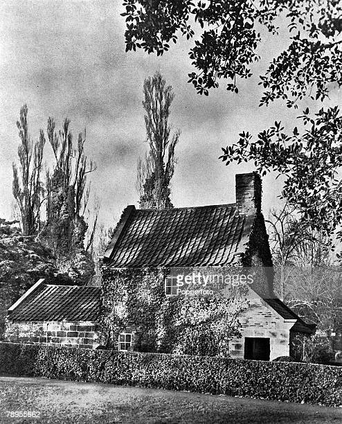 Melbourne Australia A picture of the cottage belonging to Captain James Cook the British navigator and explorer