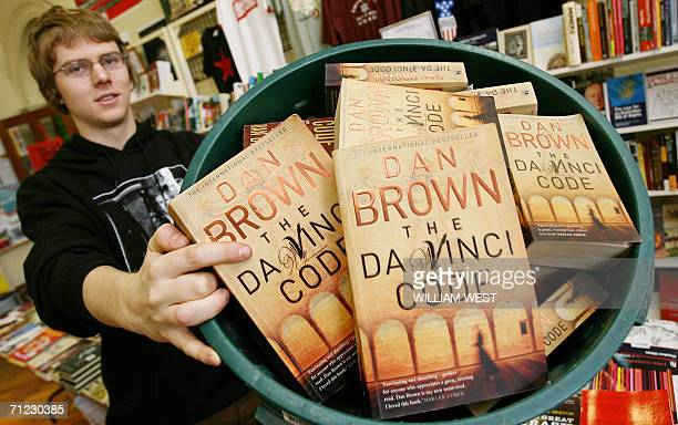 Seb Prowse of the Trades Hall's New International Bookshop shows his collection in a rubbish bin as they attempt for a Guinness World Record for the...