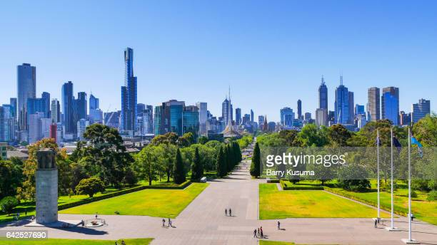 Melbourne Botanical Gardens.