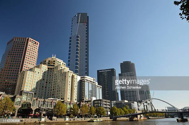 Melbourne CBD and Yarra River
