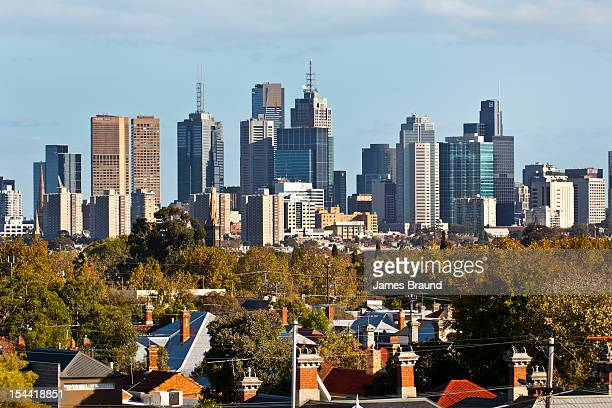 Melbourne CBD from Northcote