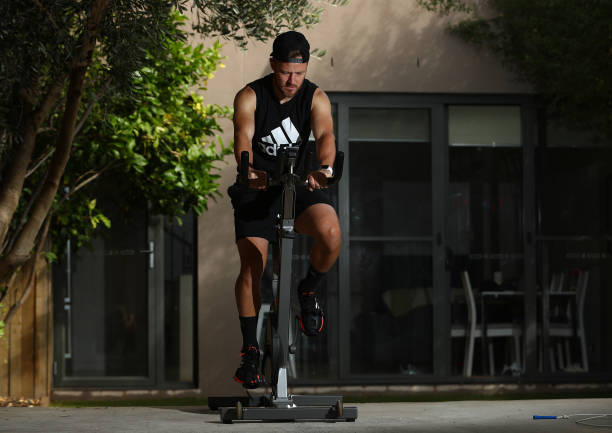 AUS: Scott Jamieson Trains In Isolation